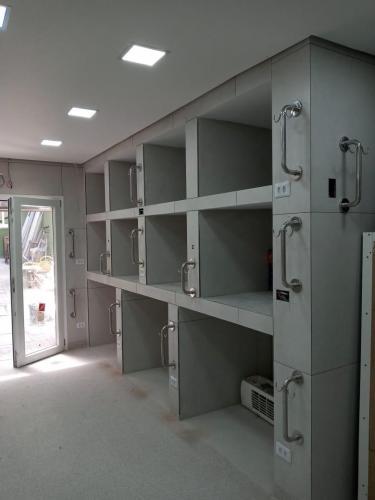 Instalação corrimão em inox - JPG Corrimão